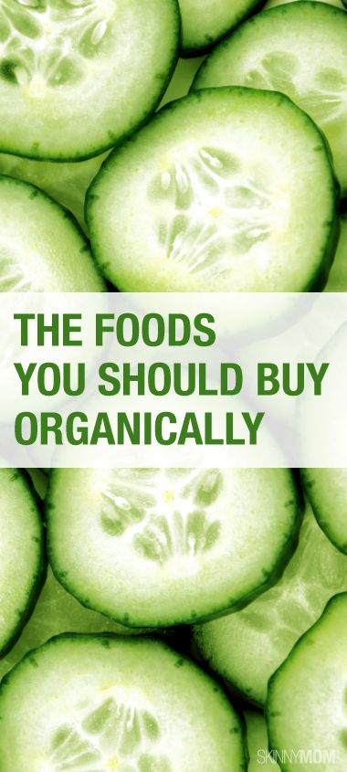 Check out these foods that you should buying organically!