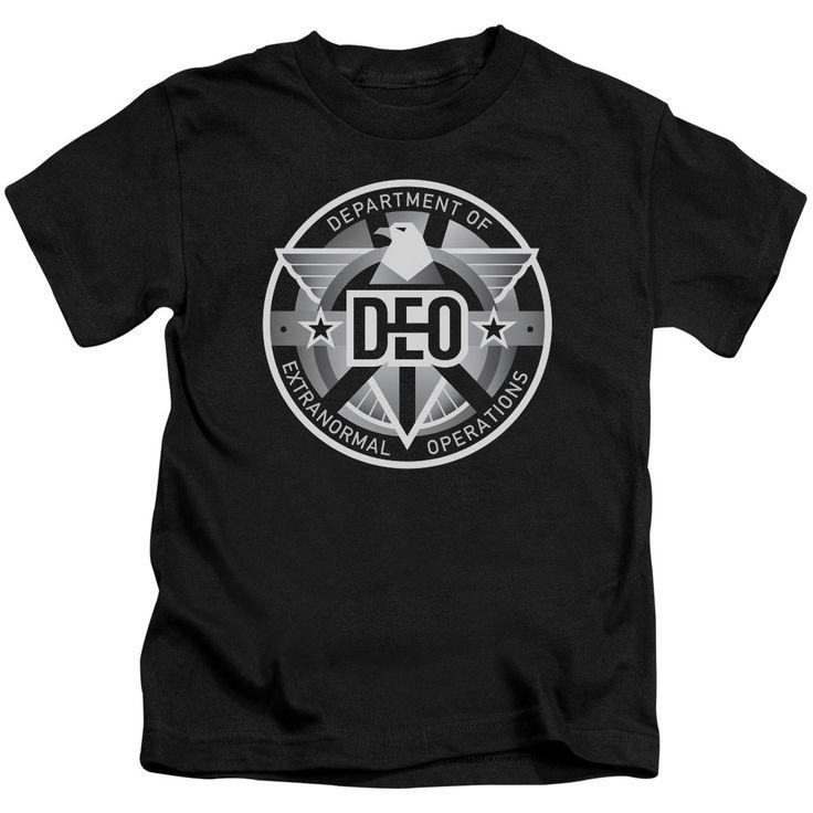 Supergirl TV Show DEO Kids T-Shirt