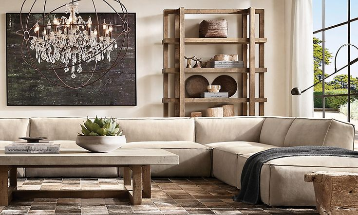 rooms  rh in 2020  modern furniture living room elegant
