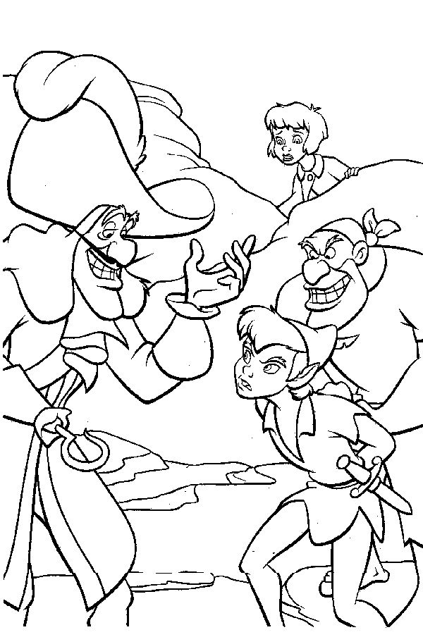 25 Unique Peter Pan Coloring Pages Ideas On Pinterest