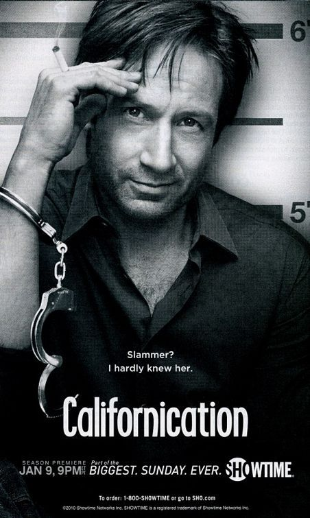 Take-3, Californication (2007-2013)   A writer juggle his career, his relationship with his daughter and his ex-girlfriend, as well as his appetite for beautiful women. Creator Tom Kapinos, Stars - David Duchovny, and Natascha McElhone