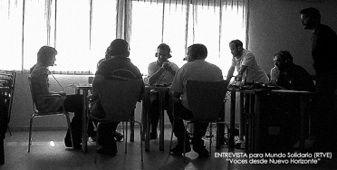 """Proyecto de Radio """"Voces desde Nuevo Horizonte"""" con gente con autismo."""