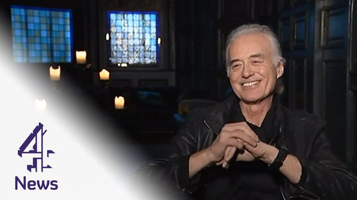 Jimmy Page: my autobiography will be published when I'm dead | Channel 4...