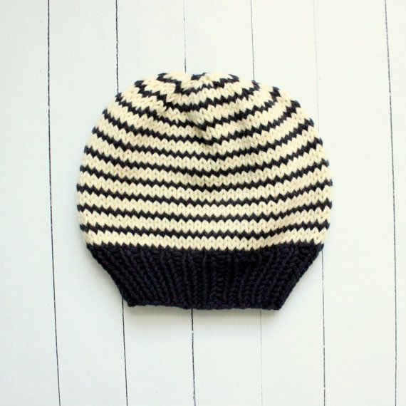 80 best images about Baby Hats - Knit Beanies Striped on Pinterest Knit bab...