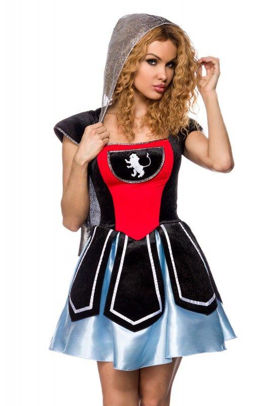 Ritter Kostüm mit Kapuze - My-Kleidung Onlineshop