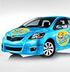 Zhu Zhu Car Wrap
