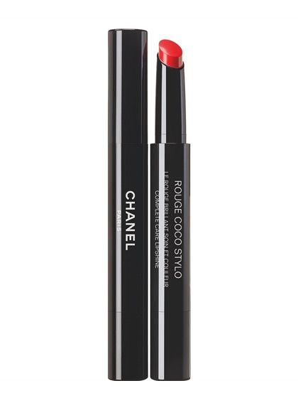 Chanel Rouge Coco Stylo Complete Care Lipshine in Histoire, $37, chanel.com.   Photo: Courtesy of Chanel