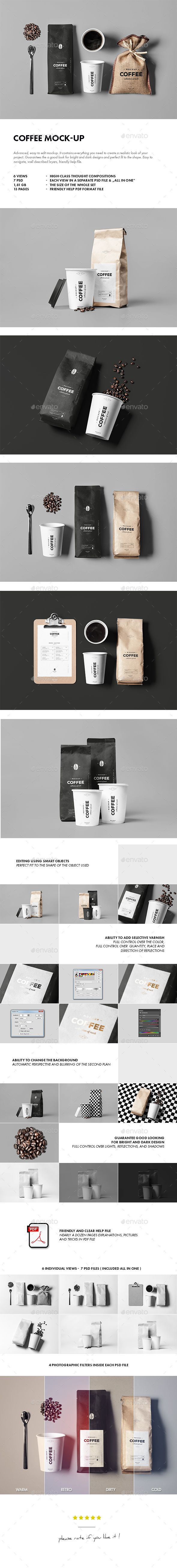 Coffee Mock-up #design Download: http://graphicriver.net/item/coffee-mockup/14350345?ref=ksioks