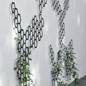 Combination Metal Trellis from Garden Beet