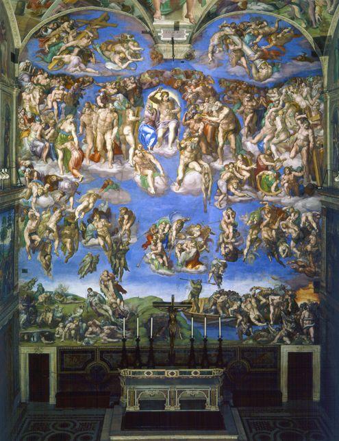 ¿Sabías qué...? Frescos de la Capilla Sixtina de Miguel Ángel Buonarroti</h4> | José Miguel Hernández Hernández