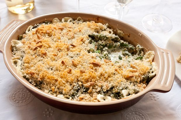Herbed Green Bean Casserole - An easy green bean casserole recipe with ...