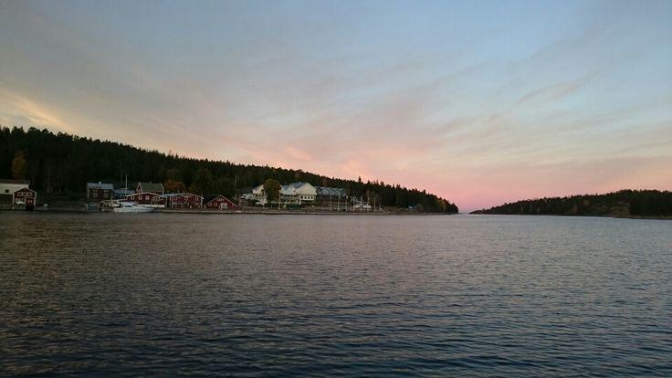Ulvöhamn i oktober