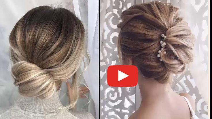 Easy Elegant Updos For Thin Hair –  Easy Prom Hairstyles For Short Hair #easy #E…