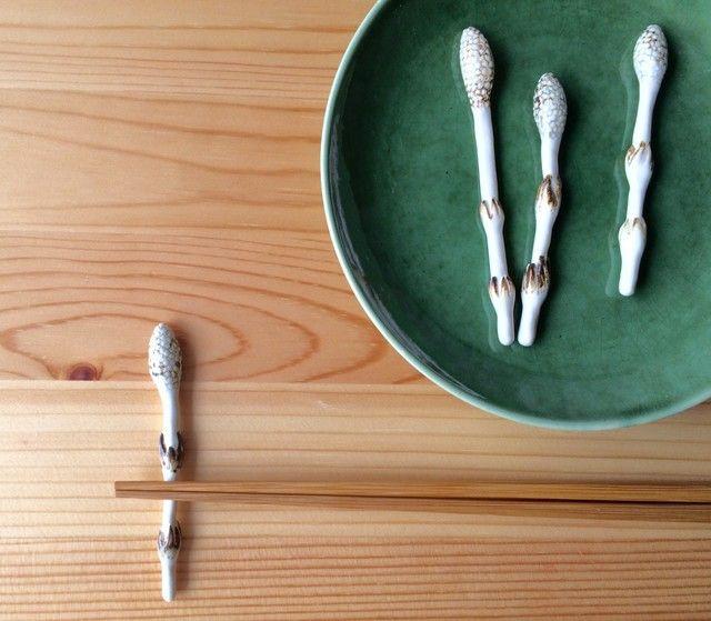 つくしの箸置き 5個セット