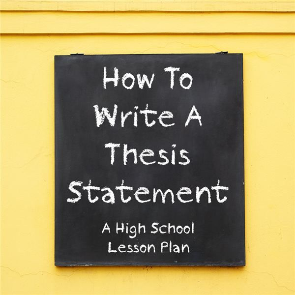 A thesis statement should