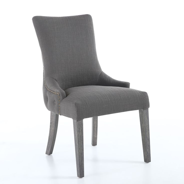 Ashley Accent Chair (Set of 2) | Gray dining chairs, Grey ...