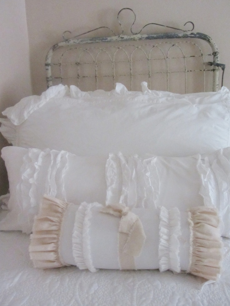 42 best shabby chic pillows images on Pinterest Pillowcases, Pillows and Shabby chic pillows