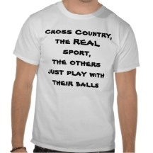 Cross Country T Tee Shirts