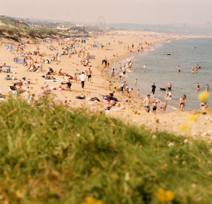 Sandhaven Beach is always a hot spot during  the summer months.