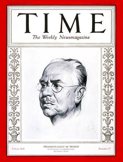 Pascual Ortiz Rubio -- Dec. 30, 1929