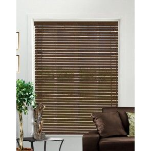 Stains Walnut Wood Venetian Blind