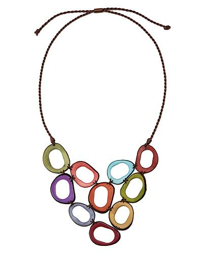 Handmade Tagua Necklace from Uncommon Goods - What can I wear it with?
