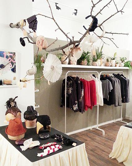 pop up store JETZT 2014 (hat display...)