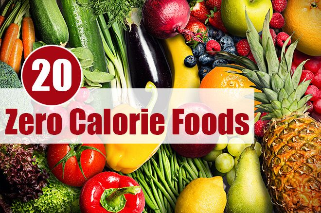 Zero Calorie Foods - many of which can homegrown in a Polytunnel in your garden or on your allotment.