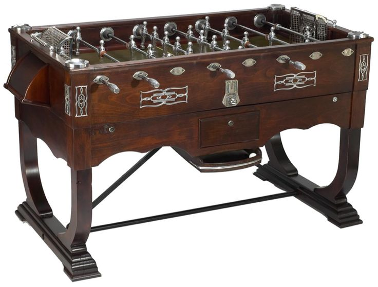 Art Déco Tischkicker Vollrestauriert Fully Restored Art Deco Foosball Table  Seen On Www.