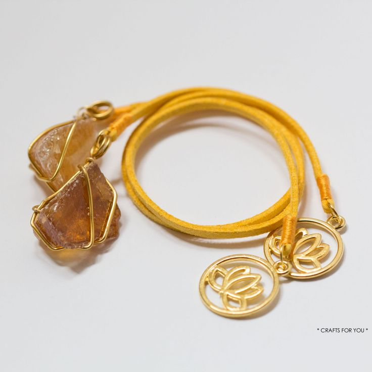 PN bookmarks-Made with orange calcite crystals specially selected by Prenda Natural.
