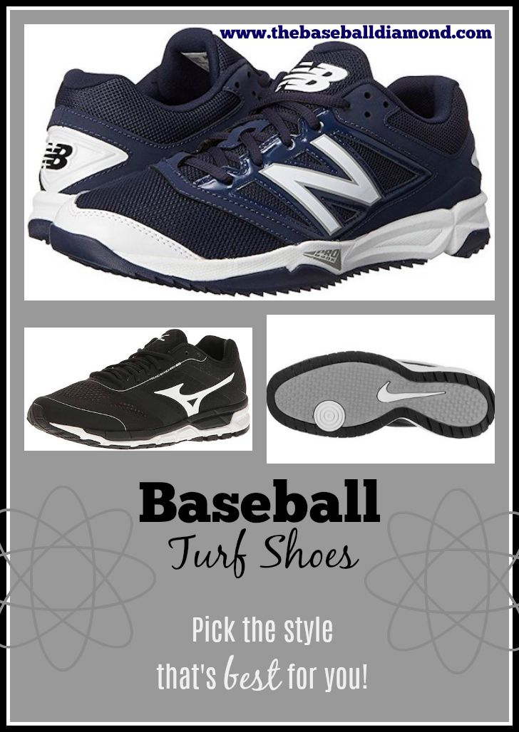 When shopping for baseball turf shoes you should pick the style that's best for you!  See the best of the best by clicking on the large image above featuring the New Balance best seller.