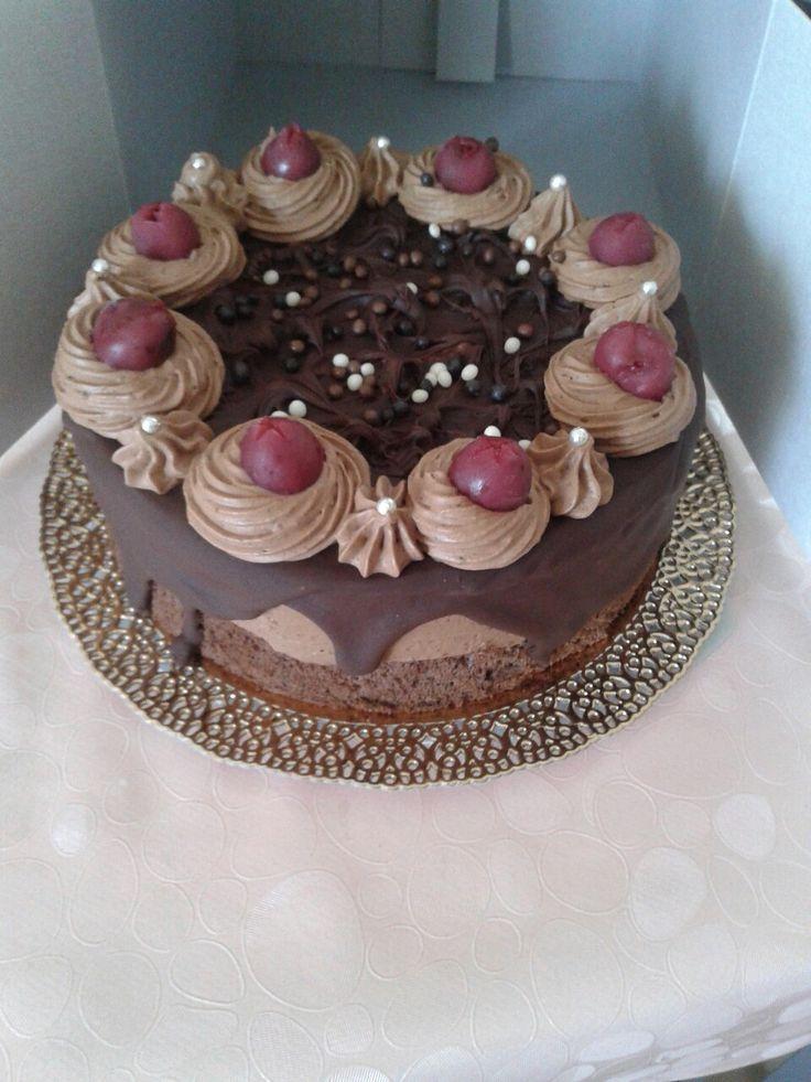Lúdláb torta kicsiben