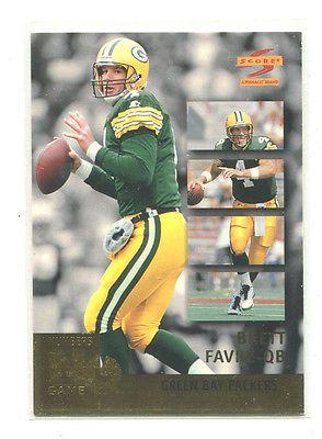 1996 Score Numbers Game #3 Brett Favre Green Bay Packers