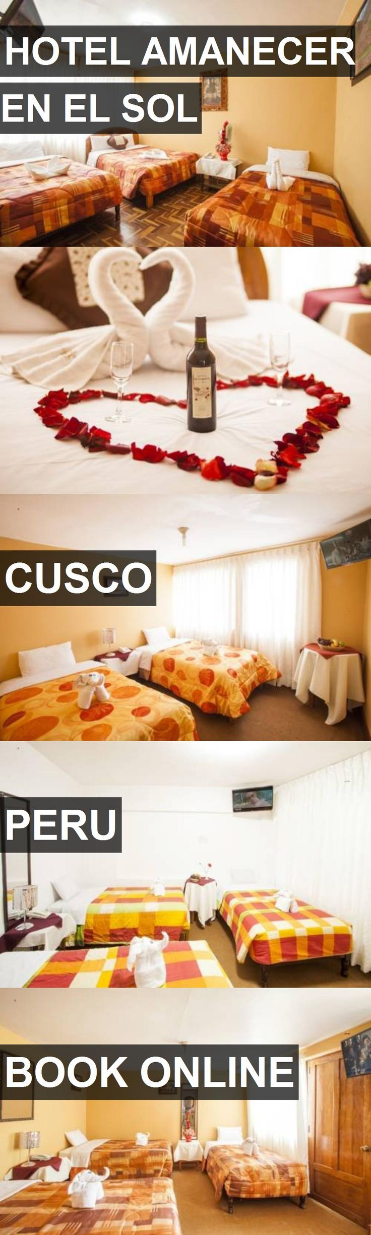 HOTEL AMANECER EN EL SOL in Cusco, Peru. For more information, photos, reviews and best prices please follow the link. #Peru #Cusco #travel #vacation #hotel