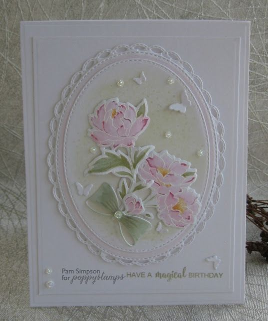 pamscrafts: Peony Stems and Blossoms.