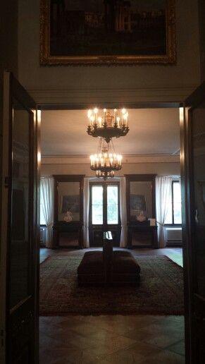 Primo piano: Sala delle feste- ex sala da ballo