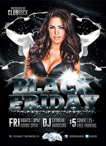 Black Friday Club Flyer