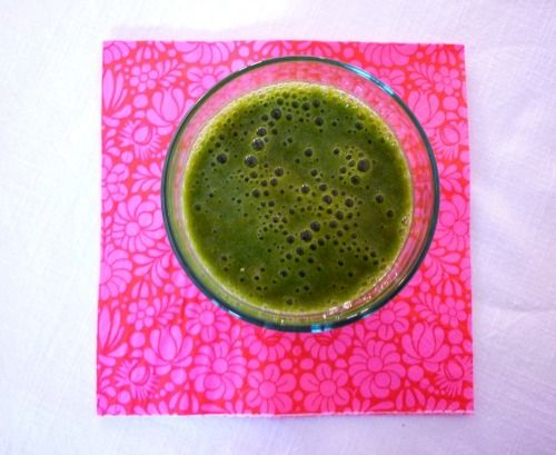 Green fruity smoothie