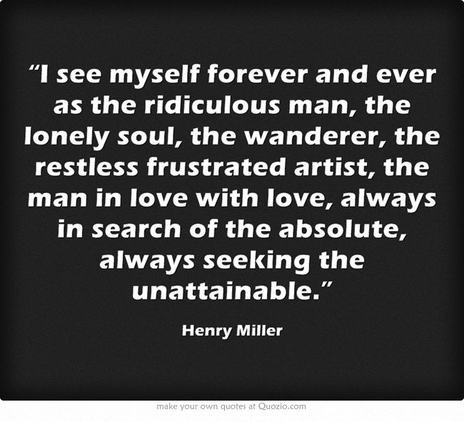 Stand Still Like the Hummingbird - Henry Miller