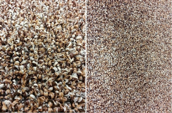 Almond A Mix Of White Tan And Brown Flecks Create A