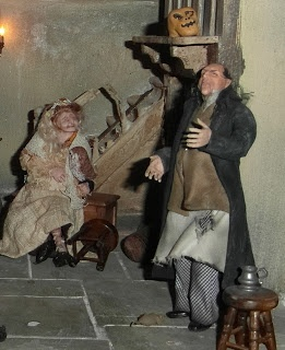 Innkeeper and drinking guest