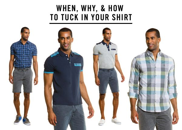 When, why, and how to tuck in your shirt :)