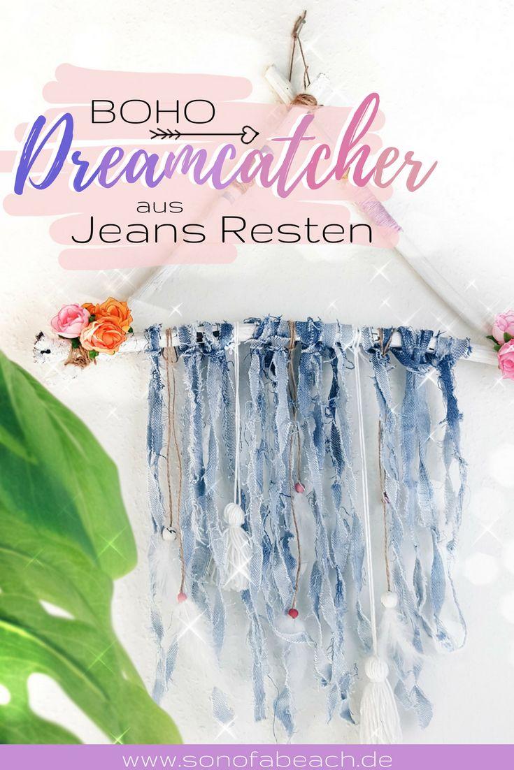In Dieser Einfachen DIY Anleitung Zeige Ich Dir, Wie Du Mit Alten Jeans  Resten Einen