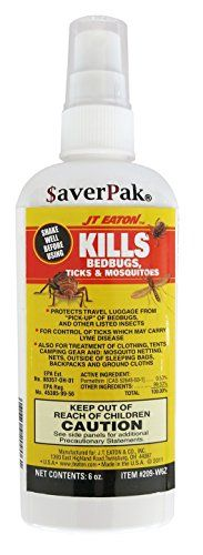 Kills Bed bugs Permethrin Clothing & Gear Treatment Pump Spray