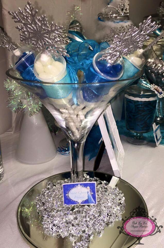 Ooh la la Sugar Parlour - Frozen Lolly Buffet.....Snow Queen Wands
