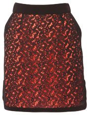 """Tokito - Broderie Contrast Shock Skirt and this one says """"I can be cool...look, edgy lace!"""""""