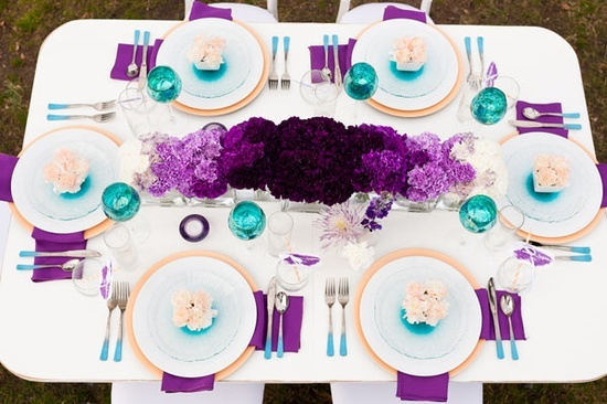 Best purple teal weddings ideas on pinterest peacock