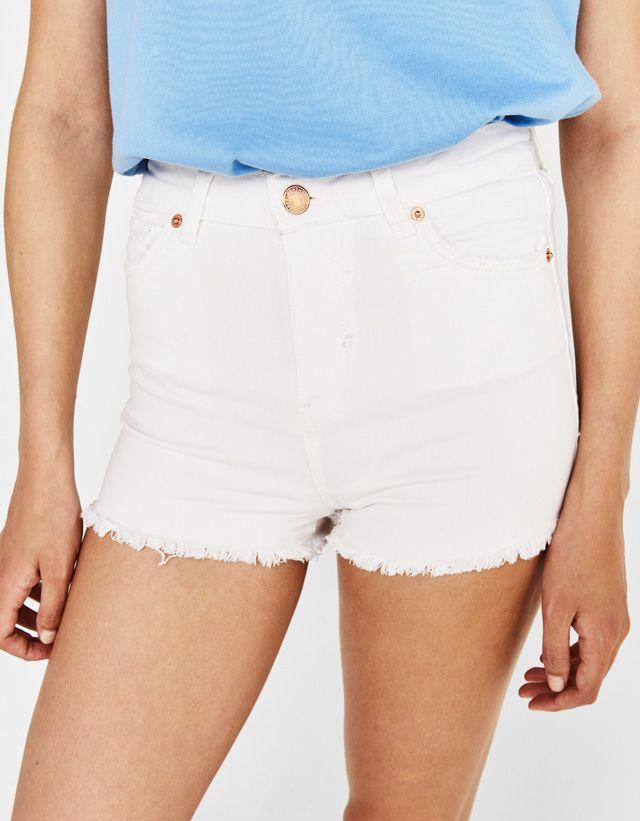 niño oficial sitio web profesional Pantalones cortos de mujer - Primavera Verano 2018 | Bershka ...