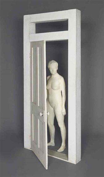 George Segal, Girl looking throught Doorway