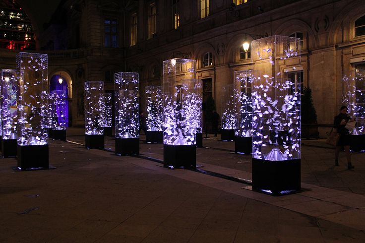 Highlights from the annual four-day event that transforms the French city into a luminous outdoor art gallery